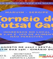 Maruim promove torneio de Futsal Gay