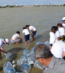 Codevasf realiza peixamento no município de Canhoba nesta sexta-feira