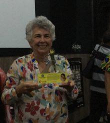 Ana Corte homenageada por assistentes sociais