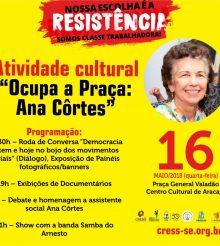 Ana Côrtes homenageada por assistentes sociais