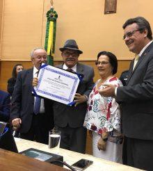 ALESE concede Título de Cidadania Sergipana a fundadores da CUT Sergipe: Rômulo Rodrigues e Edmilson Araújo