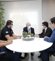 Presidente da Alese conversa com Sinpol e Adepol